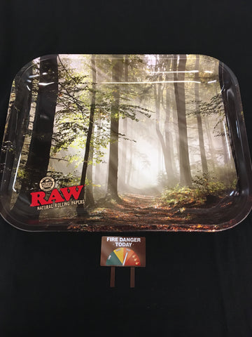 RAW Smokey Rolling Tray