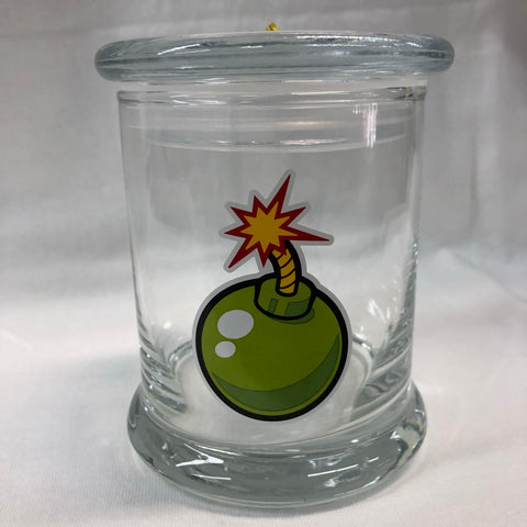 Bomb Fuse Glass Jar