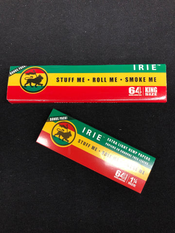 Irie Extra Light Hemp Rolling Papers