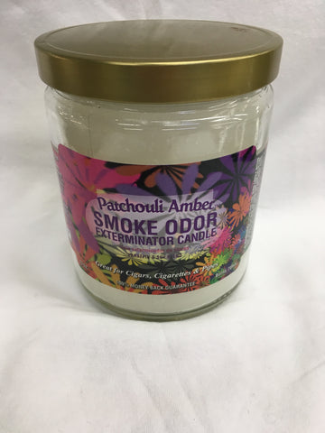 Patchouli Amber Odor Exterminator Candle