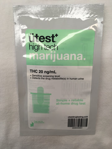 UTest Single Panel Marijuana THC 20 ng/mL