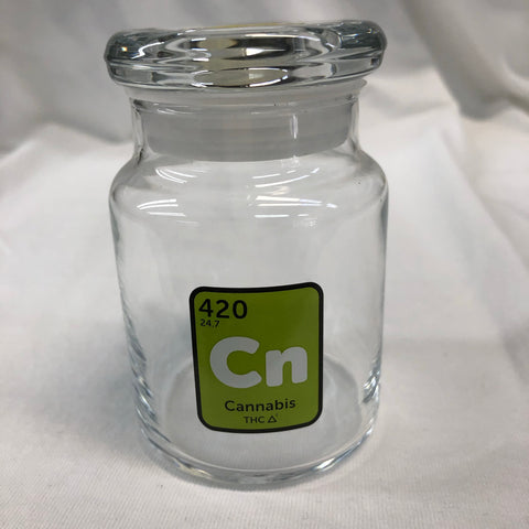 'Cn' 420 Glass Jar