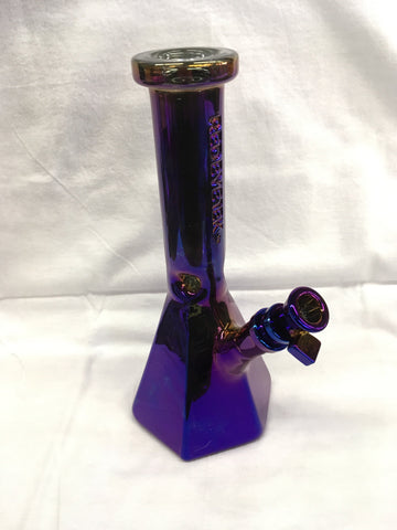 "10"" Tall Terminator Finish Hex Base Beaker Tube"