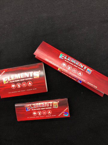 Elements Slow Burn Hemp Rolling Papers