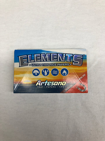 Elements Artesano Pack (Tray/Papers/Tips, 1 1/4 Size)
