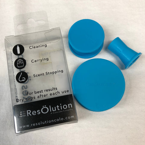 Resolution Silicone Rig Kit Caps