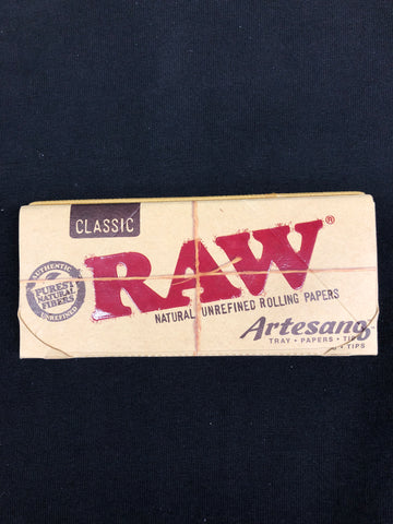 RAW Classic Artesano Pack (Tray/Papers/Tips, King Size Slim)