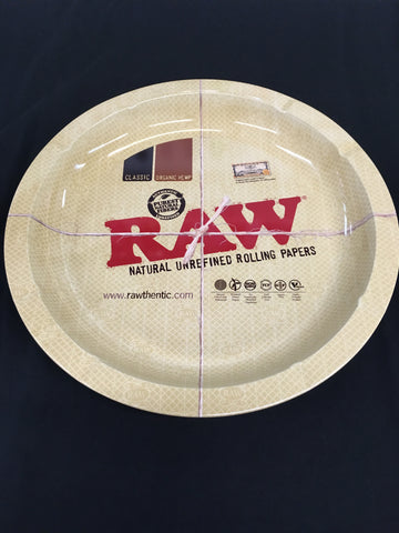 RAW Round Rolling Tray