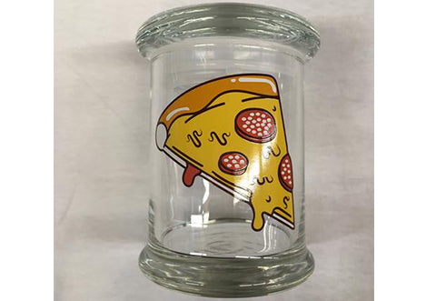 Pizza Glass Jar