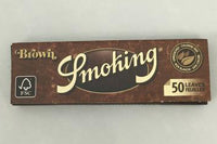 "Smoking Browns Unbleached 1 1/4"" Rolling Papers"