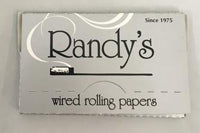 Randy's Silver 1 1/4 Size Wired Rolling Papers