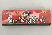 Skunk Strawberry Flavored 1 1/4 Size Rolling Papers