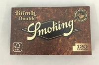 Smoking Browns Unbleached Single Wide Rolling Papers