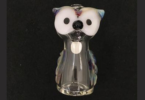 Hooter Glass Hand Pipe
