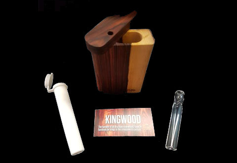 Futo  Kingwood Dugout W/Glass One-hitter