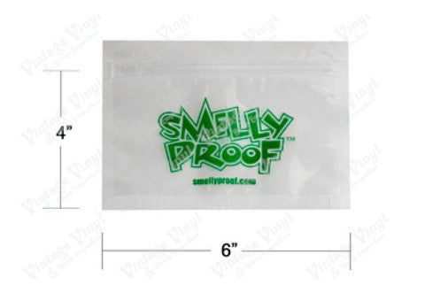 "Smelly Proof Bags - Small (6"" X 4"")"