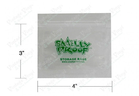 "Smelly Proof Bags - Extra Small (4"" X 3"")"