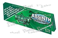 Juicy Jay's 1 1/4 Absinth Flavored 1 1/4 Size Rolling Papers