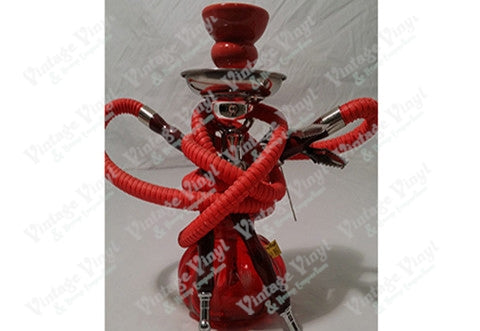Red Double Hose Hookah