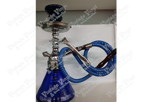 Blue Single Hose Beaker Hookah