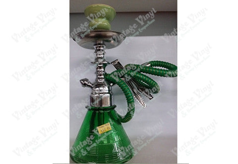 Green Single Hose Beaker Hookah