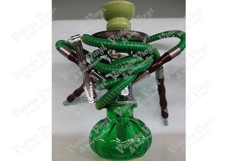 Green Double Hose Hookah