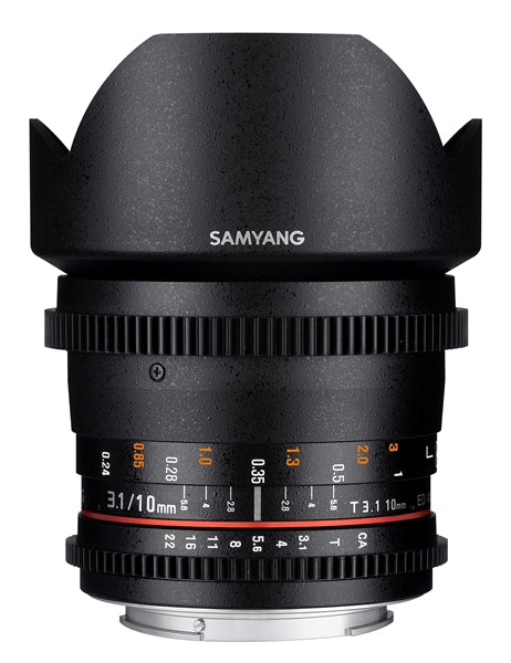 Samyang 10mm T3.1 VDSLR ED AS NCS CS II Various Brands