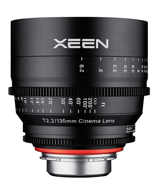 Samyang XEEN 135mm T2.2 FF cine Various Brands