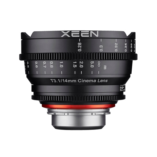 Samyang XEEN 14mm T3.1 FF cine Various Brands