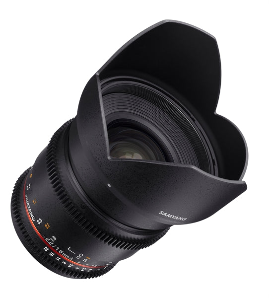 Samyang 16mm T2.2 VDSLR ED AS UMC CS II Various Brands