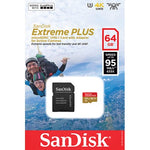 SanDisk SDHC 32 GB kaart Extreme 90MB/s U3 Class10
