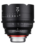 Samyang XEEN 24mm T1.5 FF cine Various Brands
