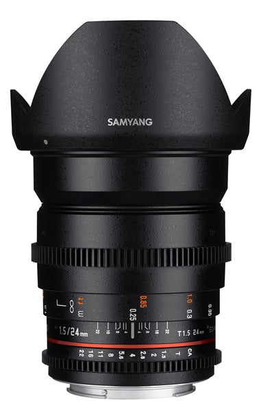 Samyang 24mm T1.5 VDSLR ED AS IF UMC II Various Brands