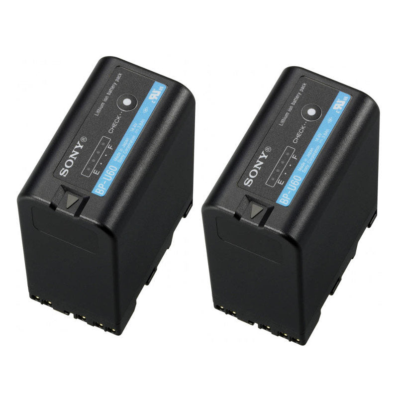 Sony 2BP-U60 Lithium-ion Battery Dualpack