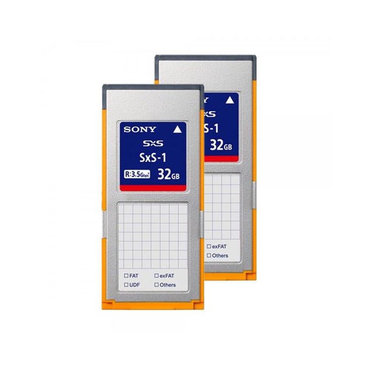 Sony SxS Pro 32GB G1C Memory Card (2-Pack)