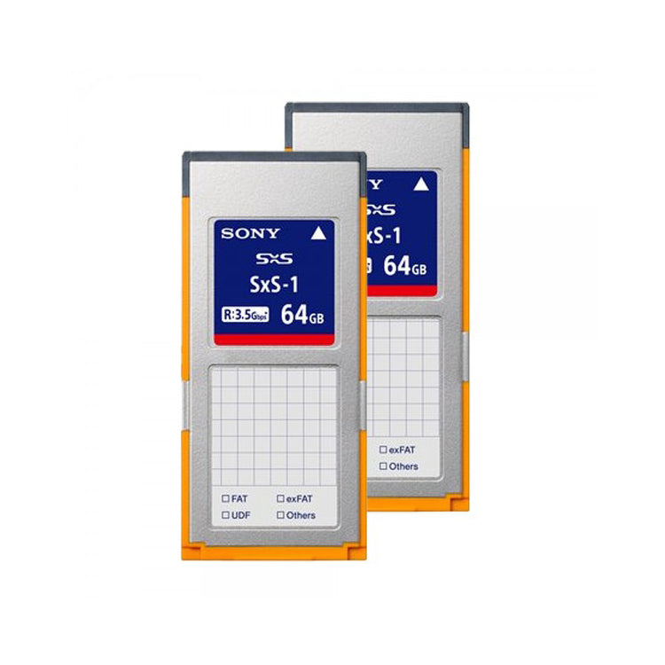 Sony SxS Pro 64GB G1C Memory Card (2-Pack)