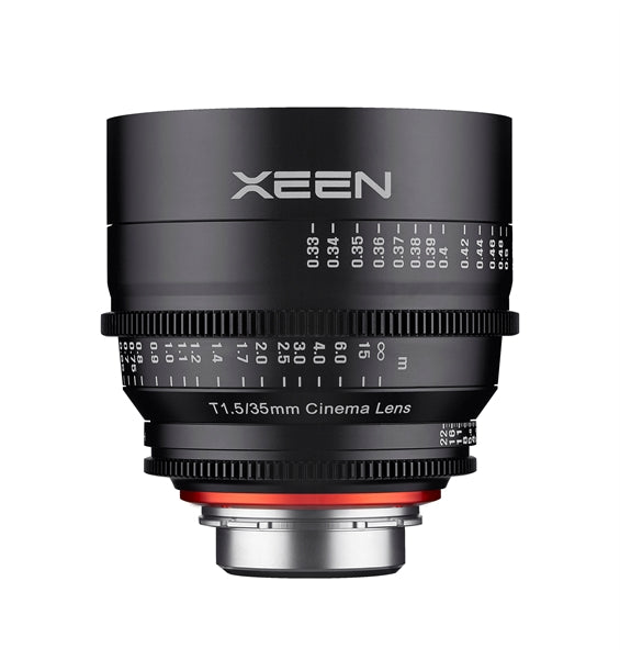 Samyang XEEN 35mm T1.5 FF cine Various Brands