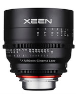 Samyang XEEN 50mm T1.5 FF cine Various Brands