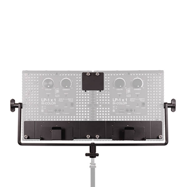 Litepanels 2x1 Manual Yoke voor 1x1 Fixtures