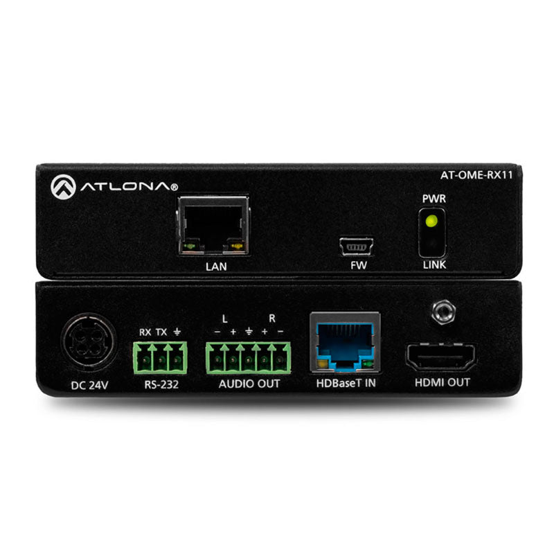Atlona AT-OME-RX11 HDBaseT receiver voor HDMI met audio