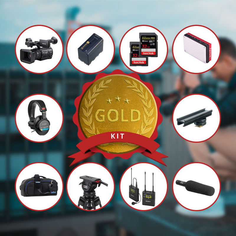 Sony PXW-Z150 Gold Kit