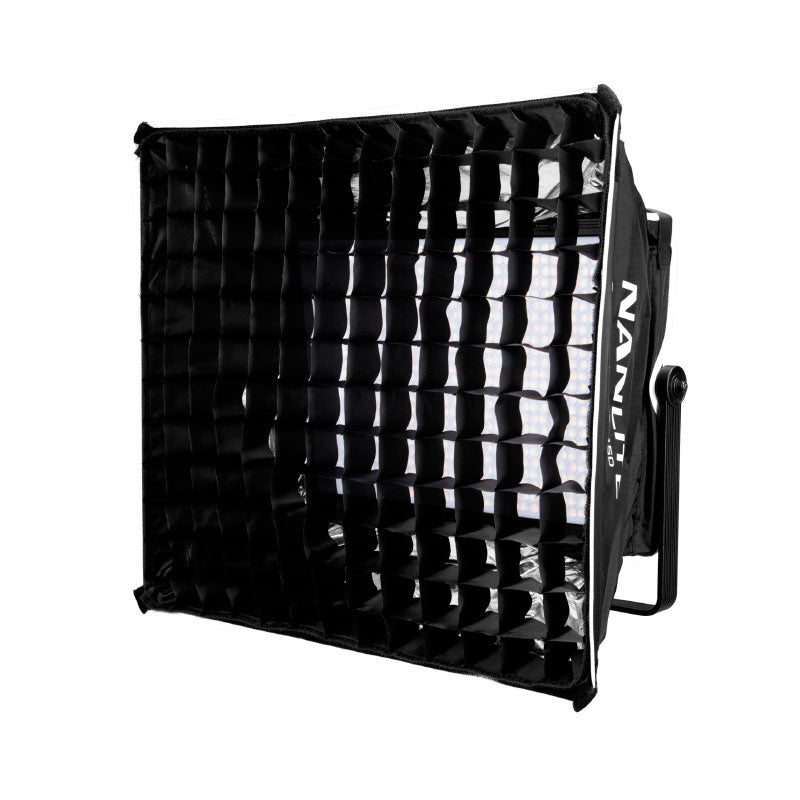Nanlite Softbox for Mixpanel 60 (w/ Eggcrate grid)