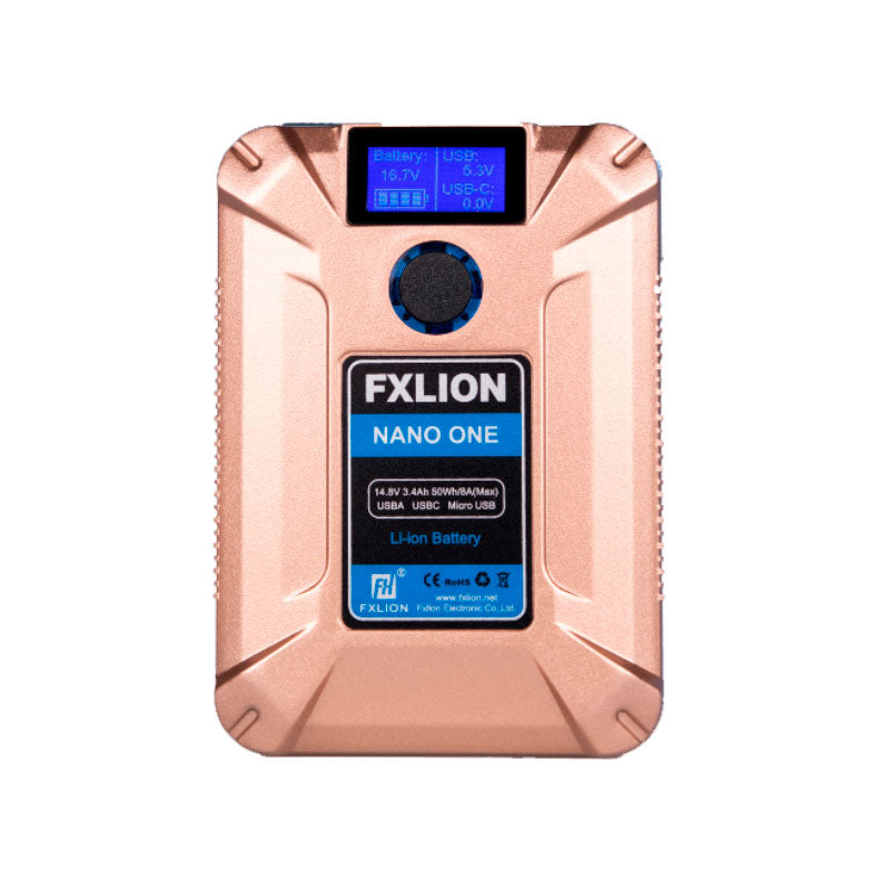 FXLion Nano One (Gold) 14.8V/50WH V-lock