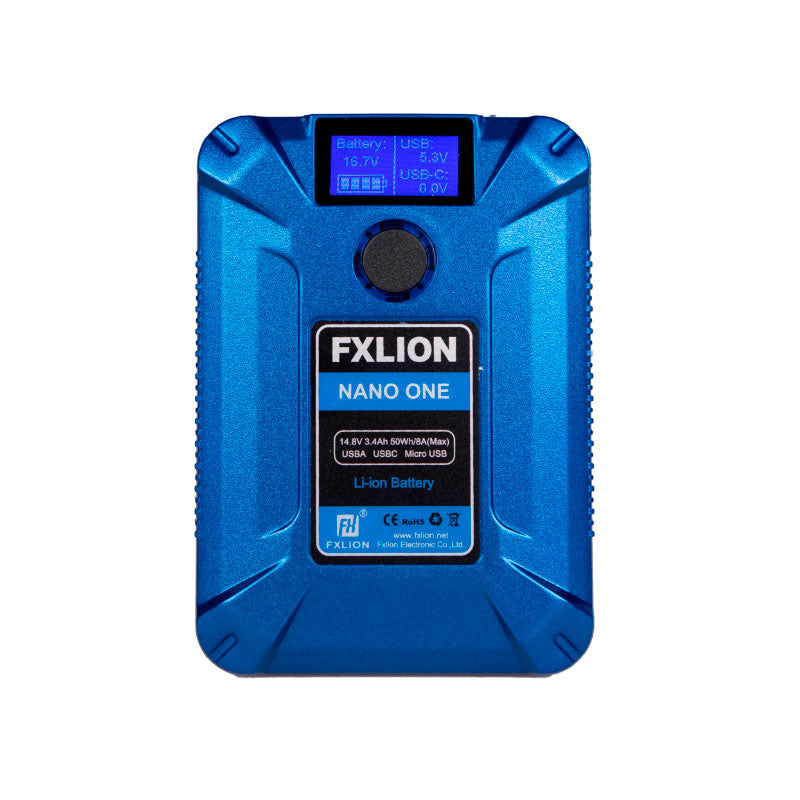 FXLion Nano One (Blue) 14.8V/50WH V-lock