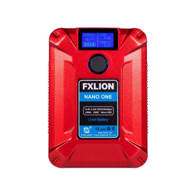 FXLion Nano One (Red) 14.8V/50WH V-lock