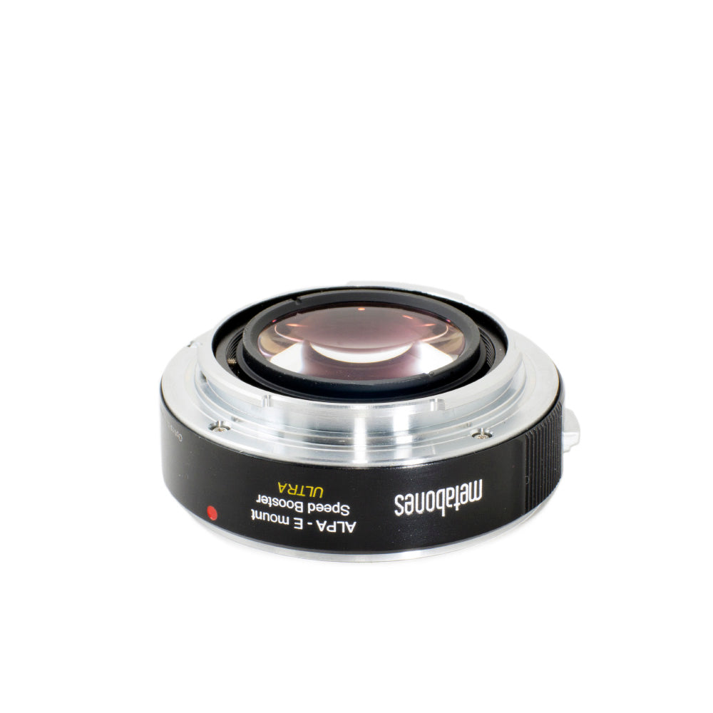 Metabones ALPA Lens to Sony NEX (E-Mount) Speed Booster ULTRA (0.71x)