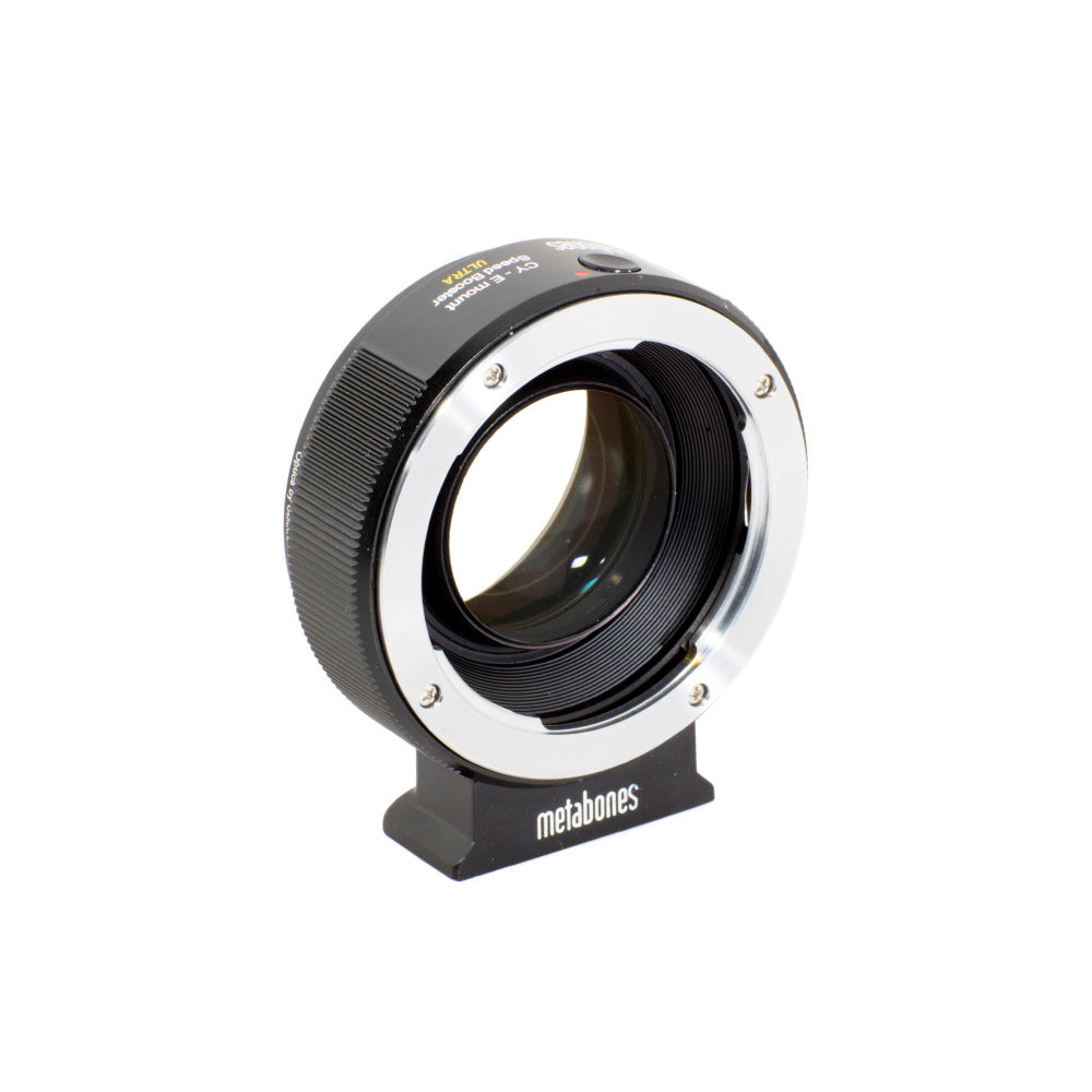 Metabones Contax Yashica Lens to Sony NEX (E-Mount) Speed Booster ULTRA (0.71x)