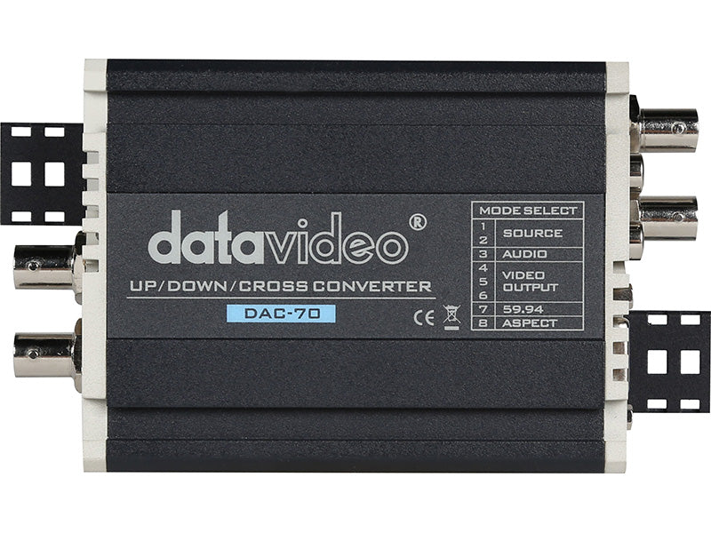 Datavideo DAC-70 Multi-format Up/Down/Cross Converter SD en HD Video Format