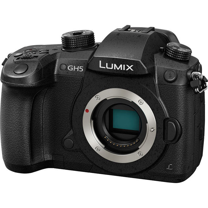 Panasonic Lumix DC-GH5LEG-K Mirrorless MFT Digitale Camera met Leica 12-60mm Lens