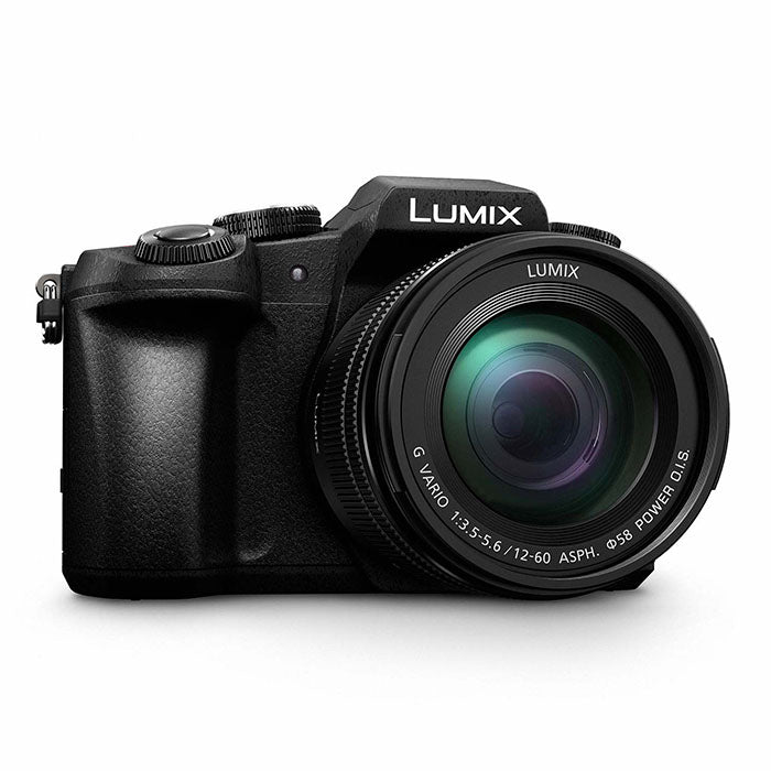 Panasonic Lumix DMC-G80MEG-K Camera + 12-60mm / f3.5-5.6 Lens